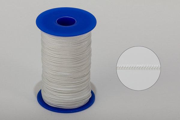 1,4 mm Nylon-Zugschnur weiß - Meterware