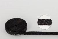 Jalousie-Aufzugband 6,0 x 0,38 mm schwarz