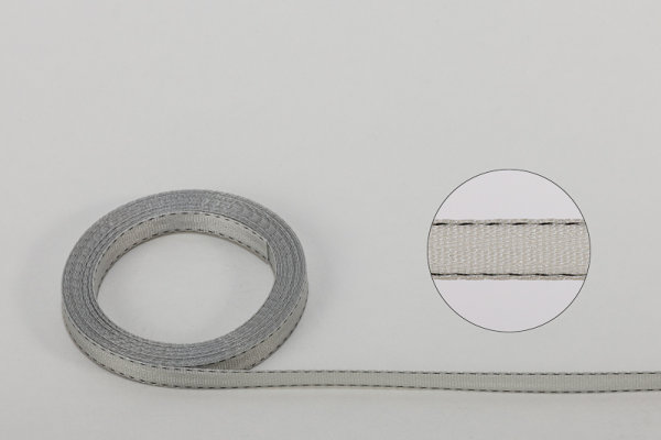 Jalousie-Aufzugband 7,0 x 0,4 mm grau
