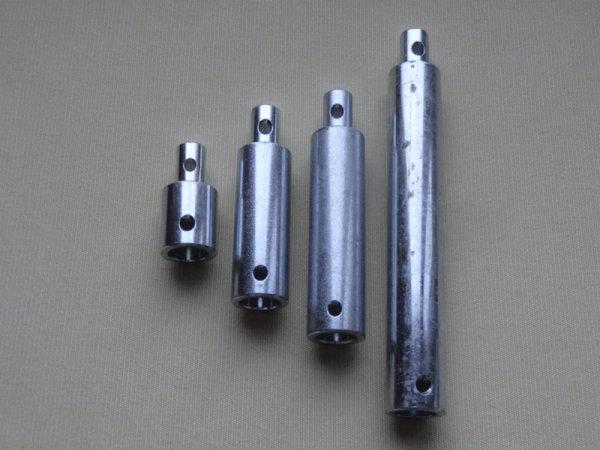 Verlängerungsstift für Kegelradgetriebe 18 mm stark