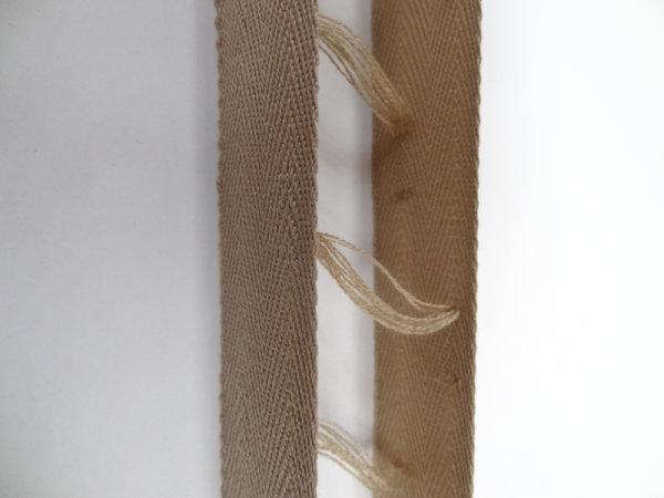 Restbestand - Leiterband für 35 mm Lamellen hellbraun