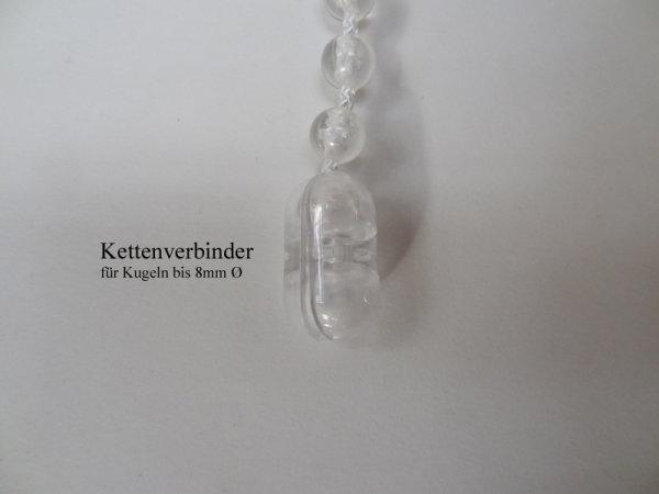 Kettenschloß für 7 mm Perlkette