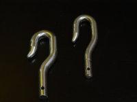 Markisenkurbelhaken 9,9 mm Zapfen